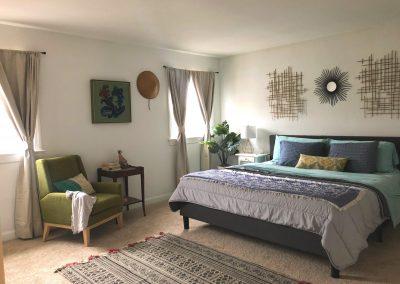 Generous bedroom size